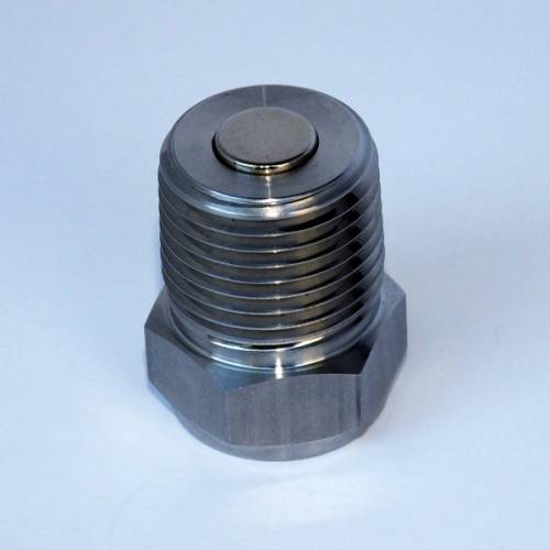 "Power Slut Racing - Magnetic Drain Plug - Thread Size 3/8"" NPT"