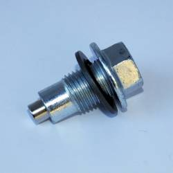 "Magnetic Drain Plugs - By Thread Size - Power Slut Racing - Magnetic Drain Plug - Thread Size 1/2"" x 20 w/ Dog Point"