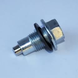 "Power Slut Racing - Magnetic Drain Plug - Thread Size 1/2"" x 20 w/ Dog Point"