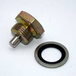 "Magnetic Drain Plugs - By Thread Size - Power Slut Racing - Magnetic Drain Plug - Thread Size 3/4"" x 16"